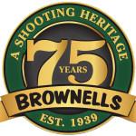 Brownells 75 Years Logo